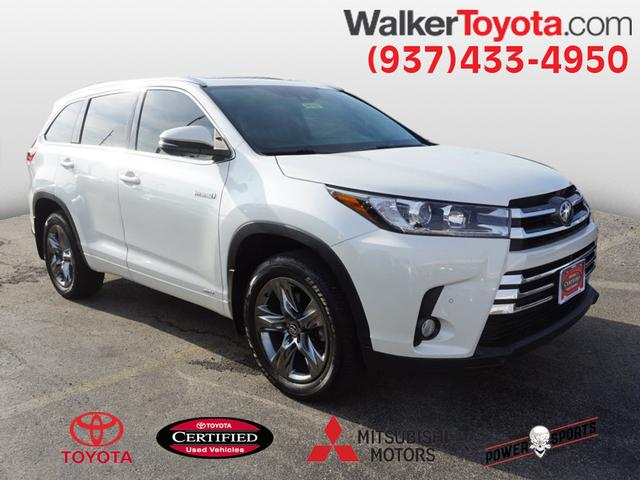 Certified Pre Owned 2017 Toyota Highlander Hybrid Ltd