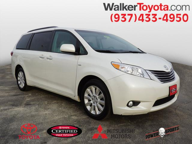 Certified Pre Owned 2016 Toyota Sienna Xle Premium